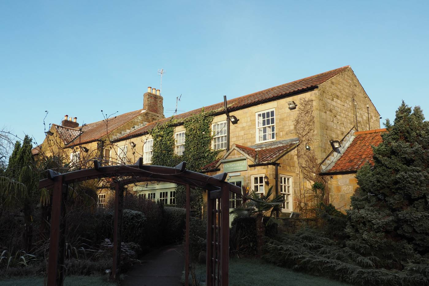 A weekend at Ox Pasture Hall Hotel, Scarborough
