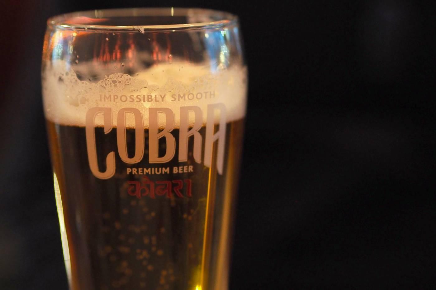 cobra beers maaya indian