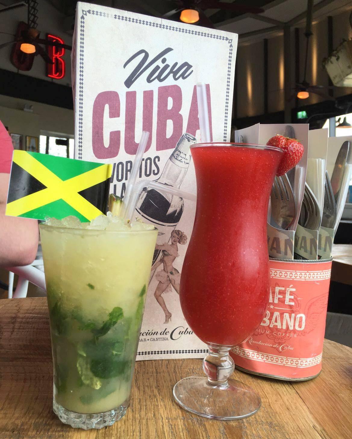 Revolución de Cuba Cocktails