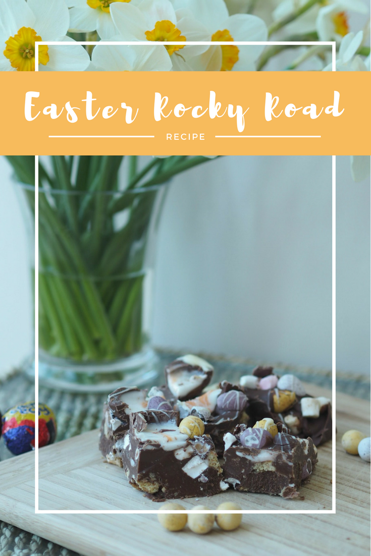 Easter Rocky Road, Creme Egg Rocky Road, rocky road, rocky road recipe
