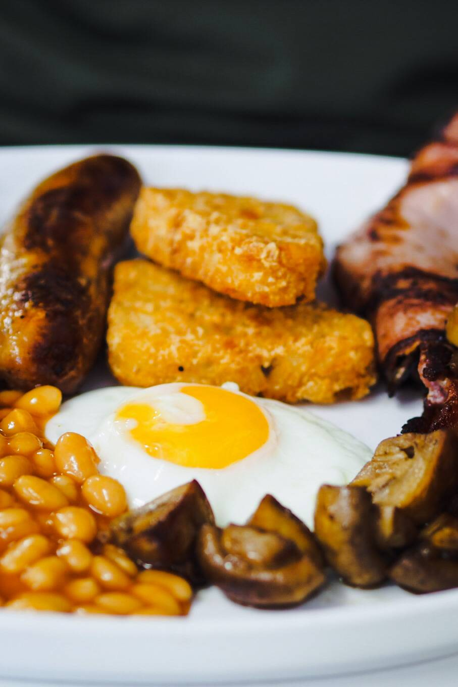 Full English Breakfast at The Super Sausage Cafe - Eat Out to Help out in Milton Keynes