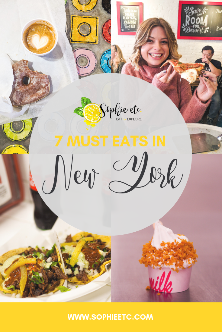 what to eat in new york