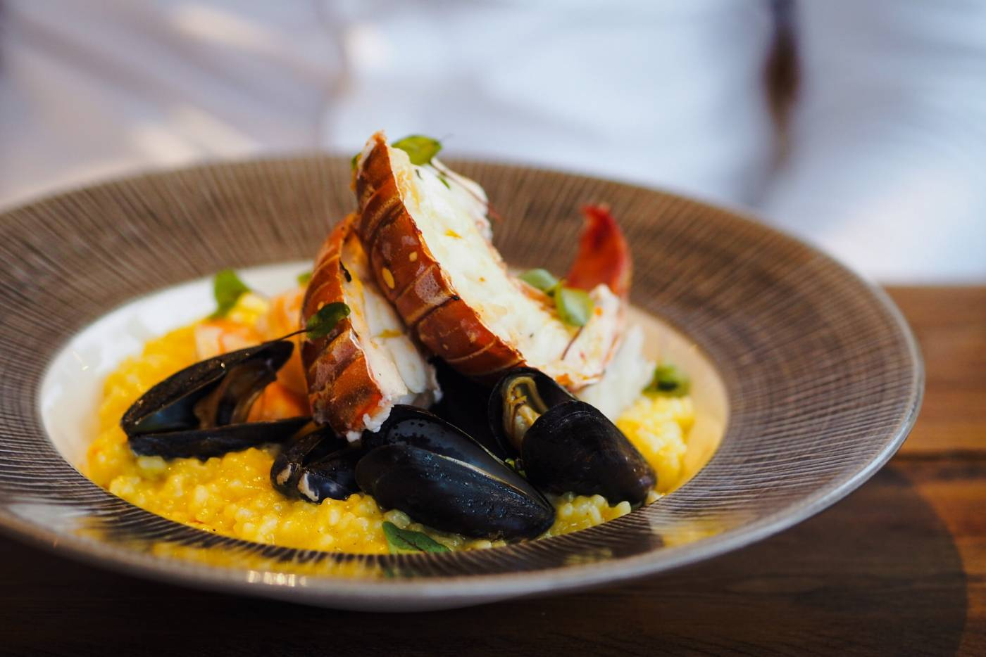 cross_keys_Milton_keynes_lobster_tail_risotto_review