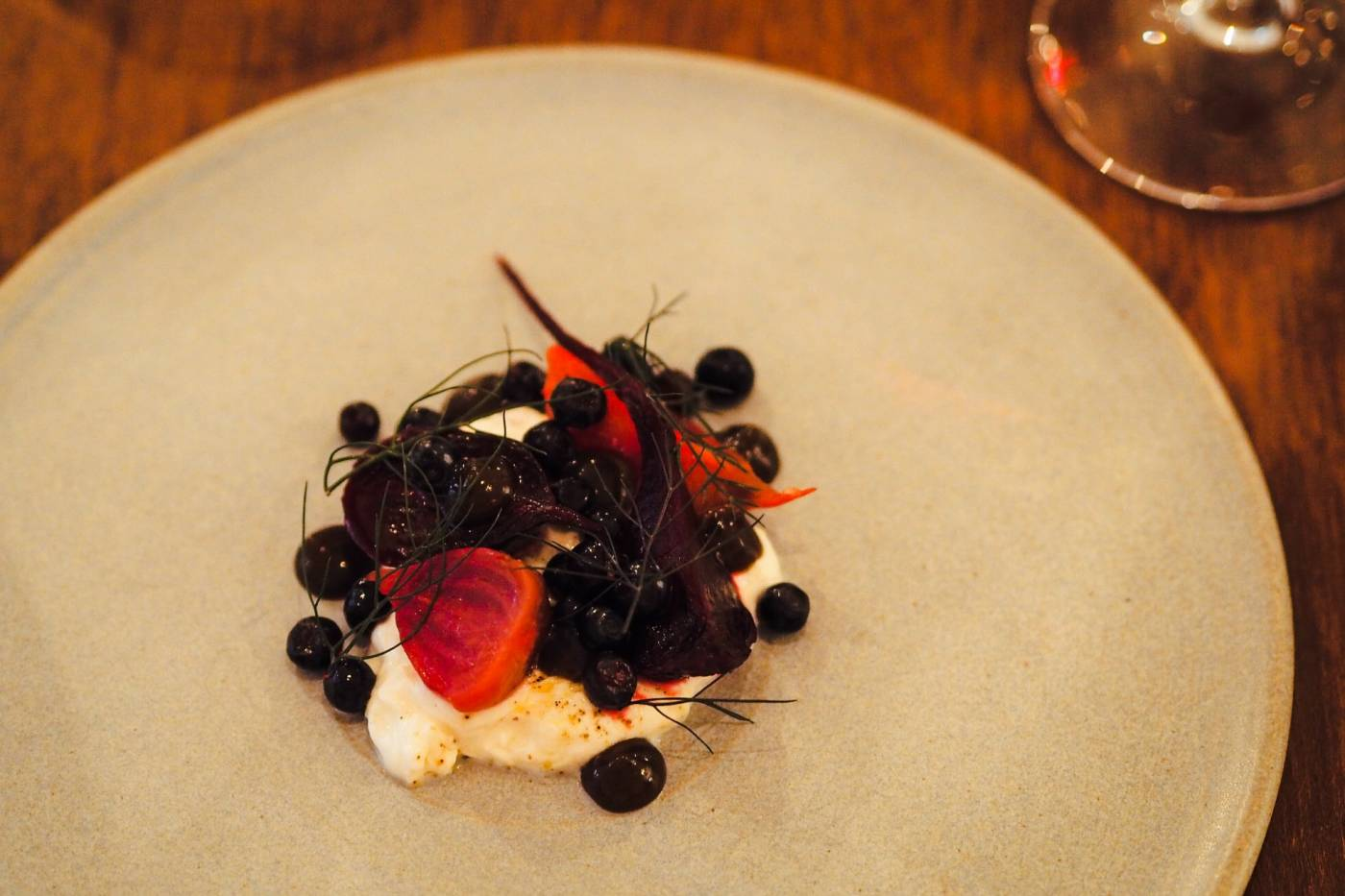A Michelin Star birthday dinner at Portland Restaurant