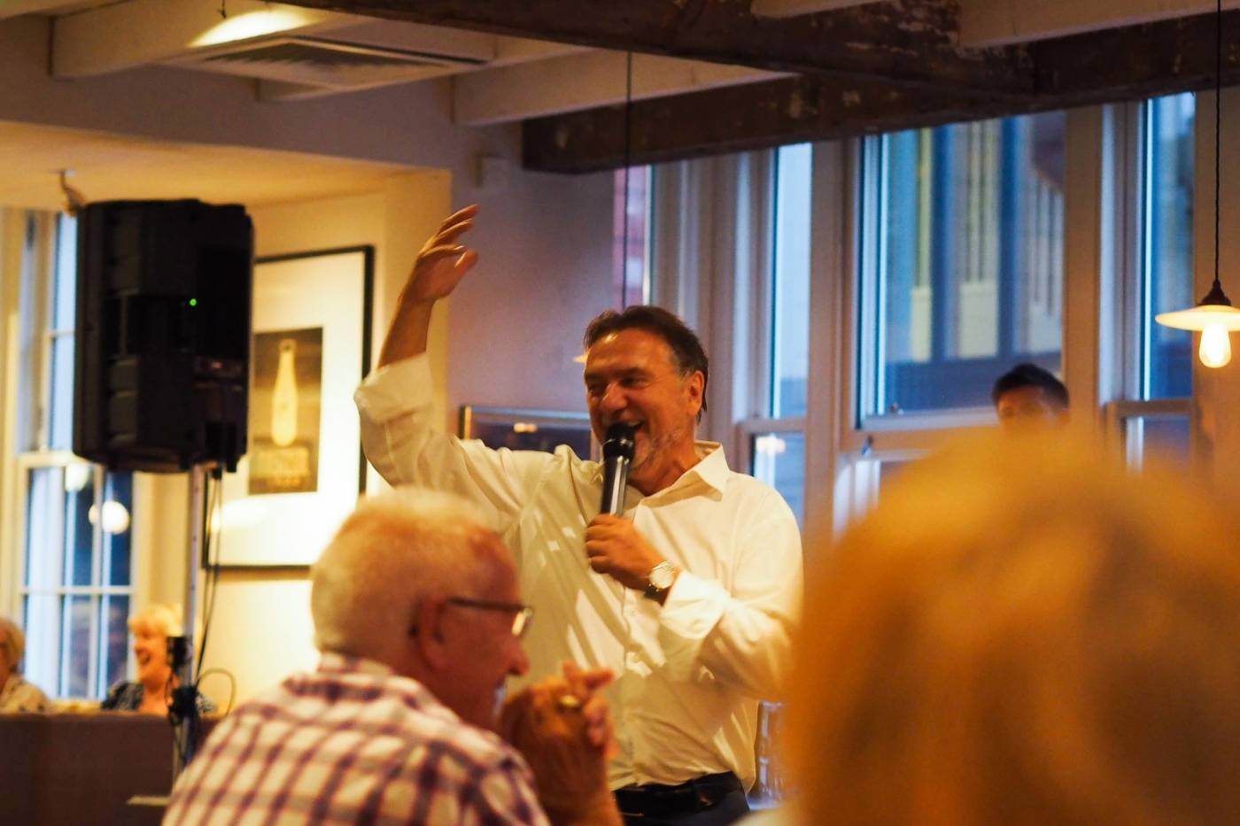 SUMMER SOIREE WITH RAYMOND BLANC AT BRASSERIE BLANC, BEACONSFIELD