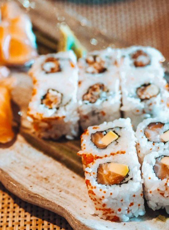 Sushi platter from Akasaka