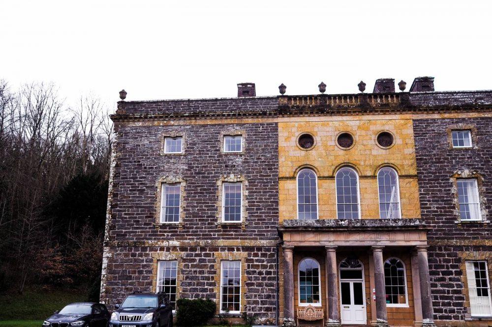 Exterior of Nanteos Mansion