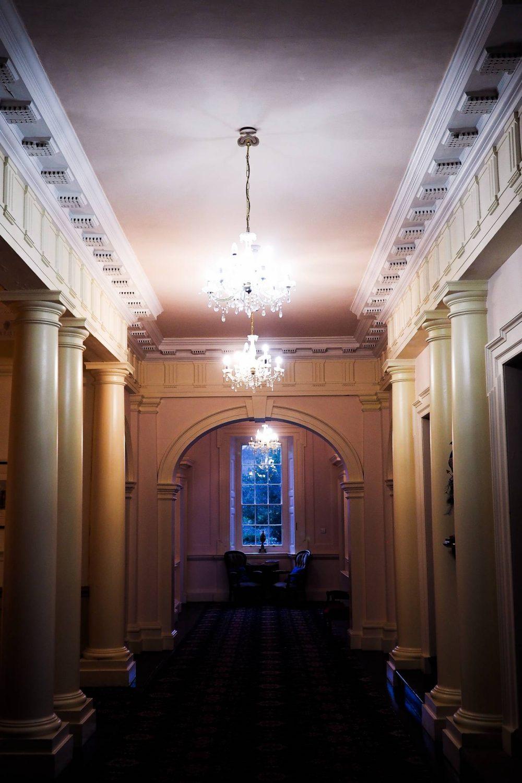 Hallway in Nanteos Mansion