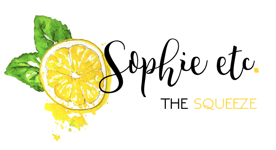 Sophie etc logo with lemon