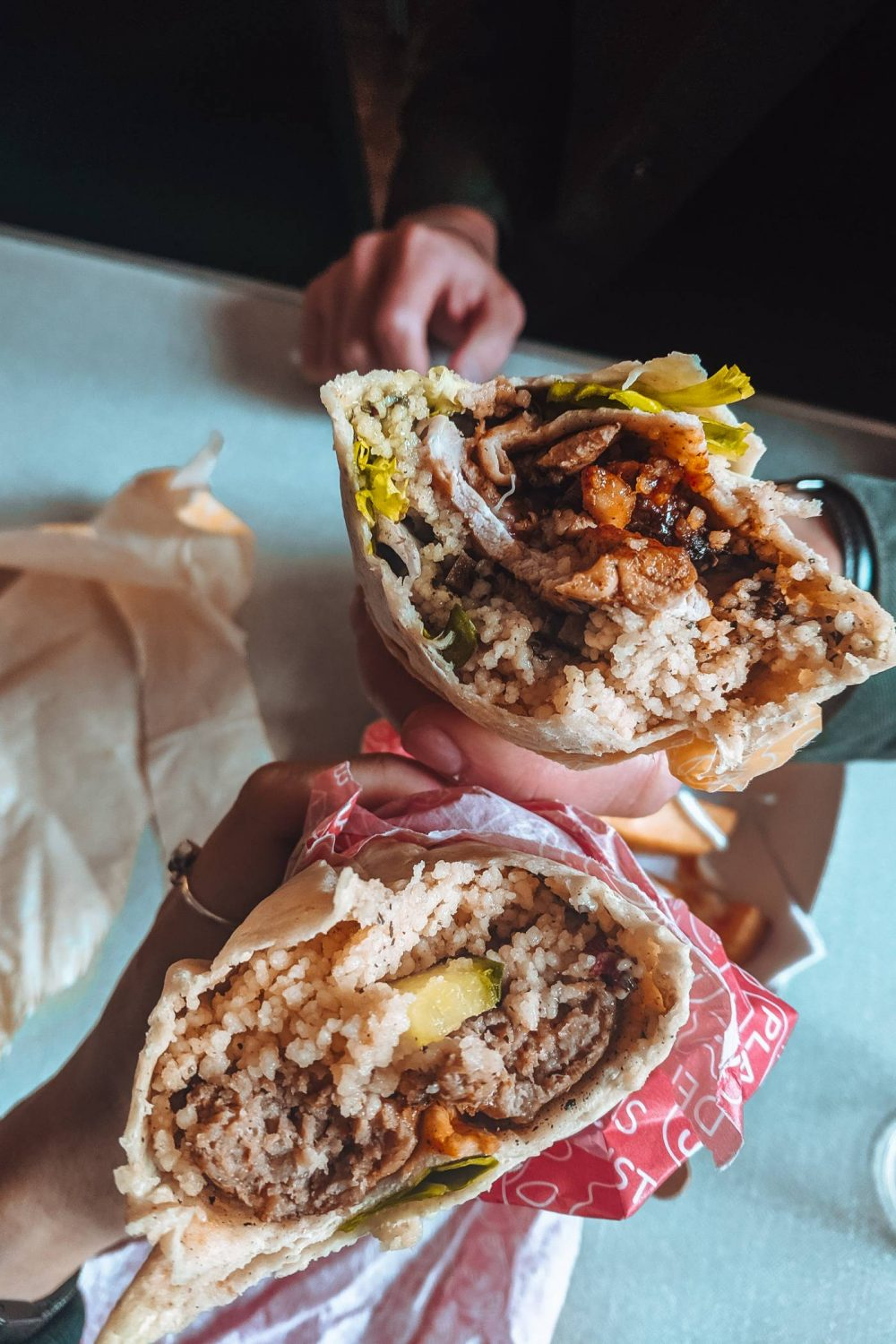 Meat Wraps from FEAST Street Food
