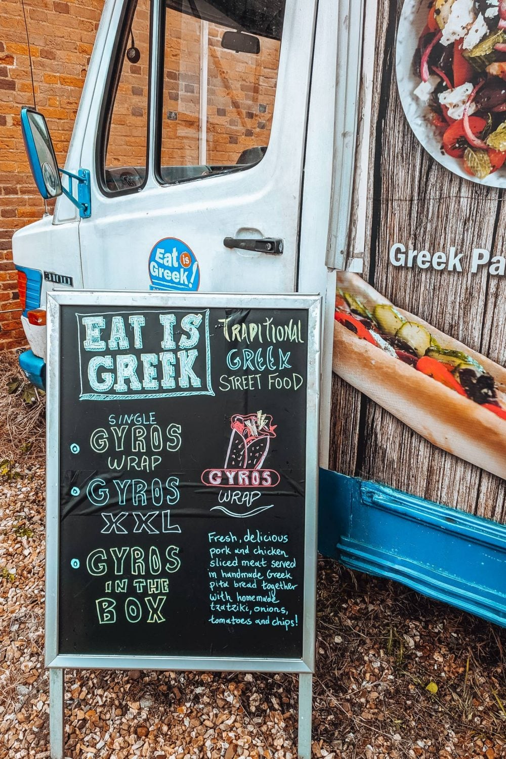 Eat is Greek menu