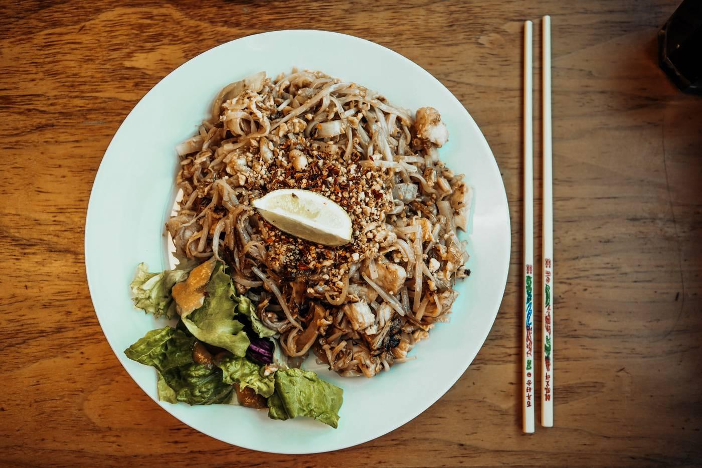 Pad Thai from MII&U Oriental Cafe Milton Keynes