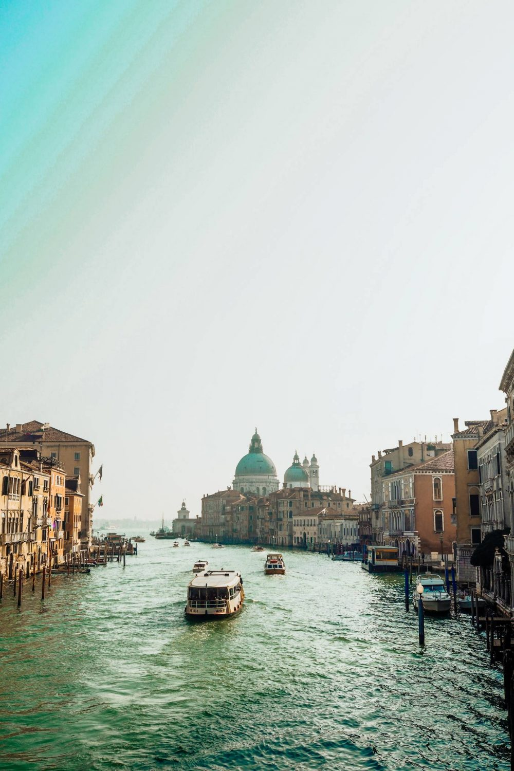 View from Ponte Dell Accademia over the Grand Canal, Venice