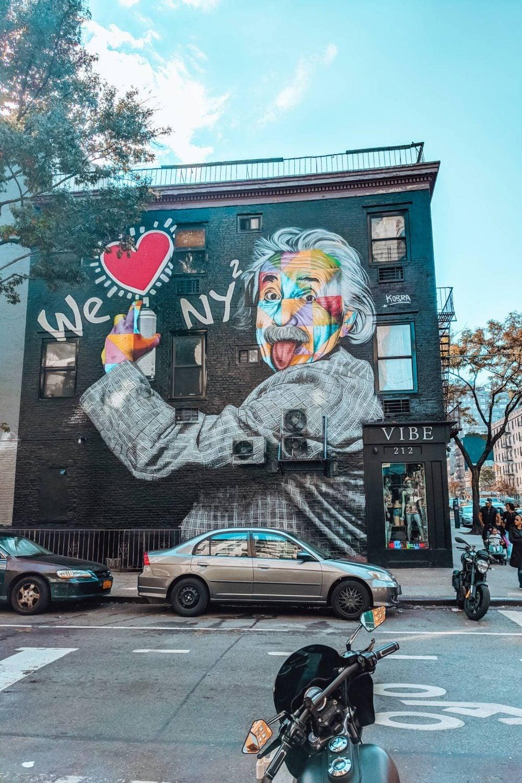 We Heart NY Street art in Chelsea, New York