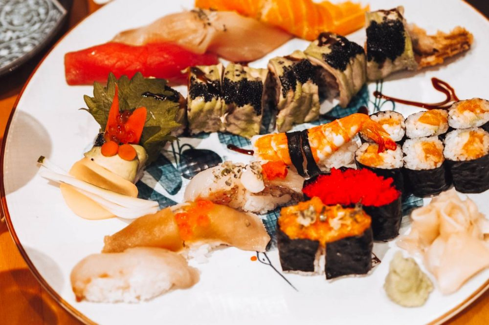 Sushi Platter at Japonica, New York