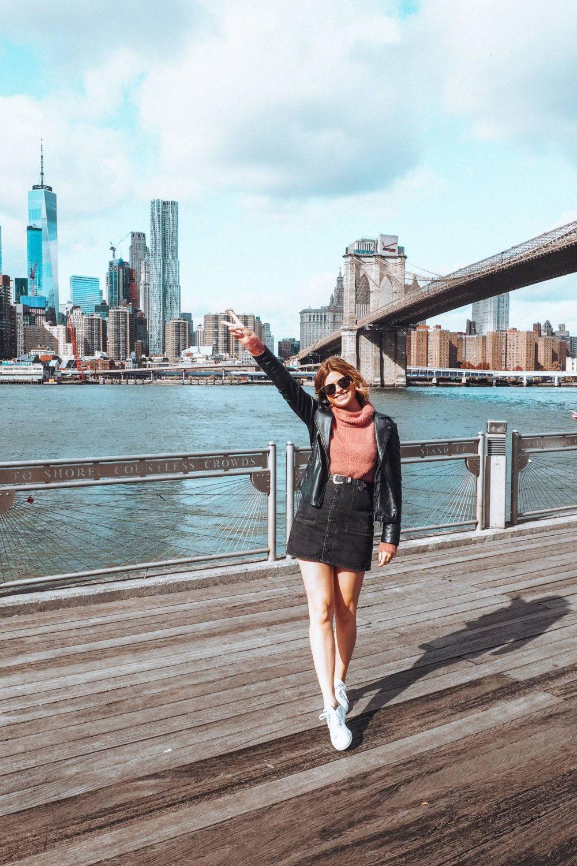Sophie in DUMBO New York