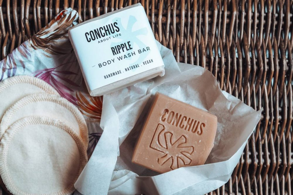 Conchus Shampoo Bar and Body Wash Bar