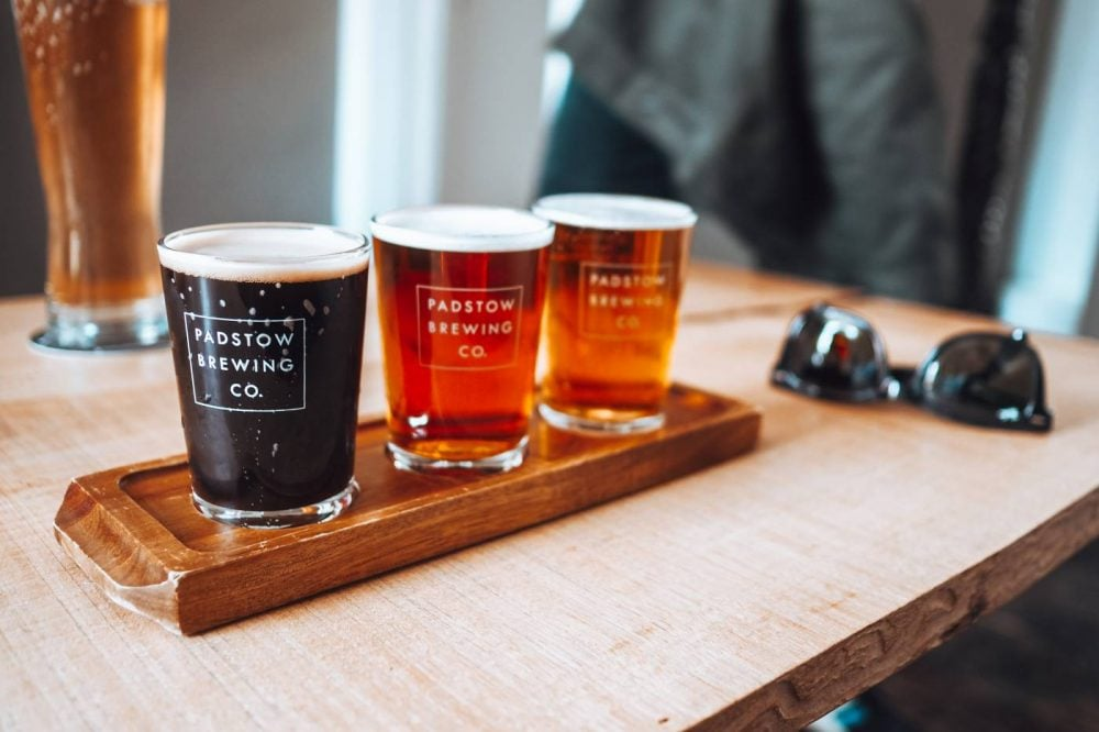 Padstow Brewing Co. Beer Flight