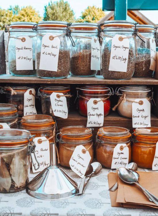 My Refill Market jars