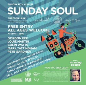 Soul Sunday @ Furzton Lake | Furzton | England | United Kingdom