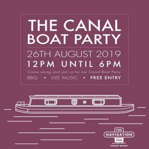 The Canal Boat Party @ The Navigation Inn | Cosgrove | England | United Kingdom