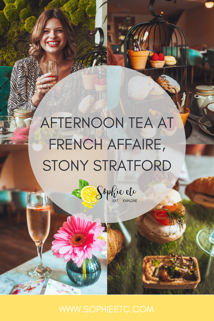 Afternoon Tea at French Affaire