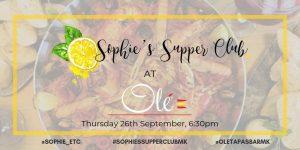 Sophie's Supper Club @ Olé Tapas Bar | Wolverton | England | United Kingdom