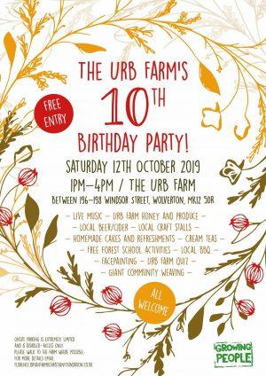 The Urb Farm's 10th Birthday Party @ The Urb Farm | Wolverton | United Kingdom