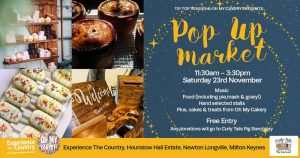 Indoor Pop-Up Market @ Tip Top Venues | England | United Kingdom