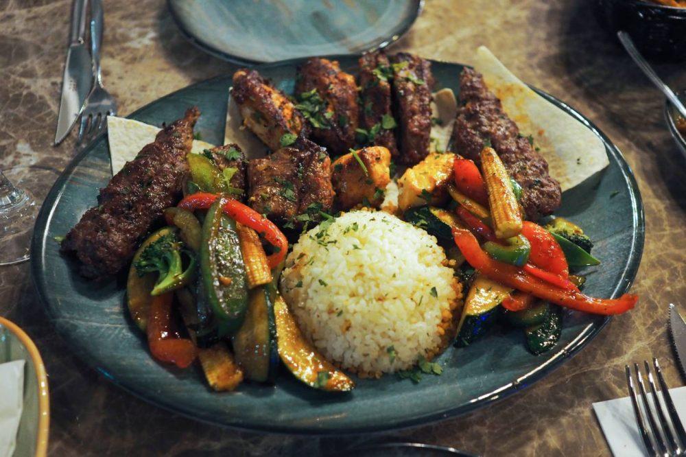 Mixed grill at deroka restaurant Milton Kaynes