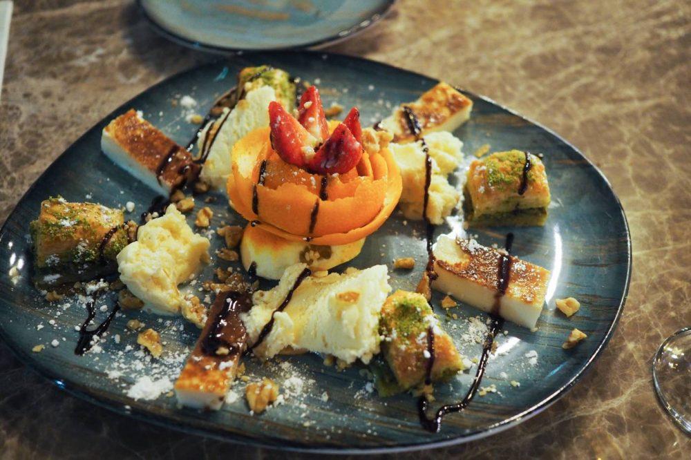 Dessert at DeRoka Restaurant, Milton Keynes