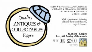 Antiques & Collectables Fayre @ Old School | Wolverton | England | United Kingdom