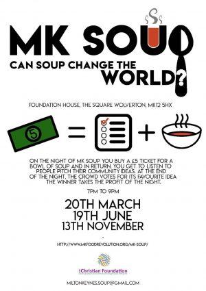 MK Soup @ Foundation House | Wolverton | England | United Kingdom