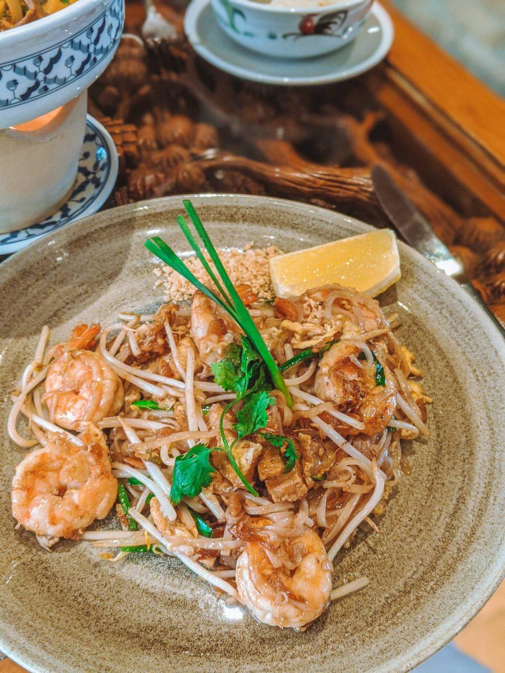 Pad Thai at Thai Modern Milton Keynes